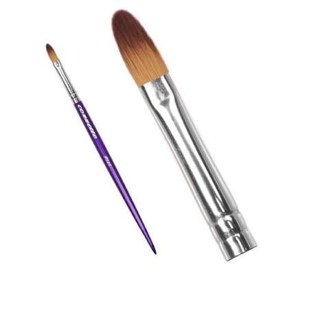 P355 Stylist Cozzette Lip Brush The P355 is a precision shaped lip brush perfect for the blending of lip liner and for the application of lipstick and gloss. It is an ideal brush for shaping lip color. The brush is extremely versatile as it can also be used as a small concealing brush on the face or body.The brush is from the Divinity collection of Cozzette brushes which are not...