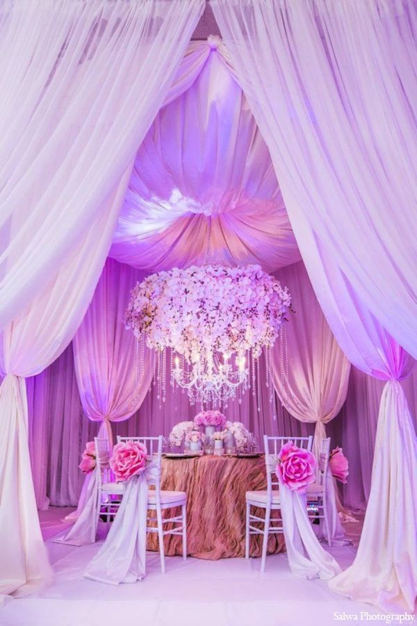 """Beautiful Draping & Lighting ~ """"Get your centerpieces off the table"""". That's something that I recently heard regarding wedding centerpieces and the current trend in the wedding industry today. I must say, I'm a huge fan!"""