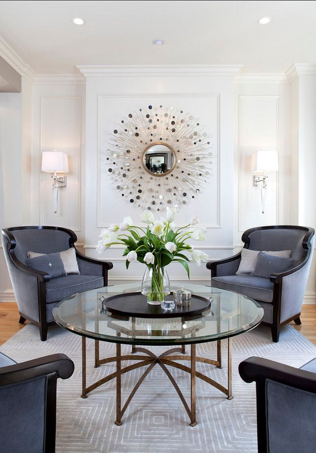 Glamourous Modern Home Living Room Robeson Designthat Mirror Is Like The Most Beautiful Space Jewelry Ive Ever Seen Rebecca With Her Team