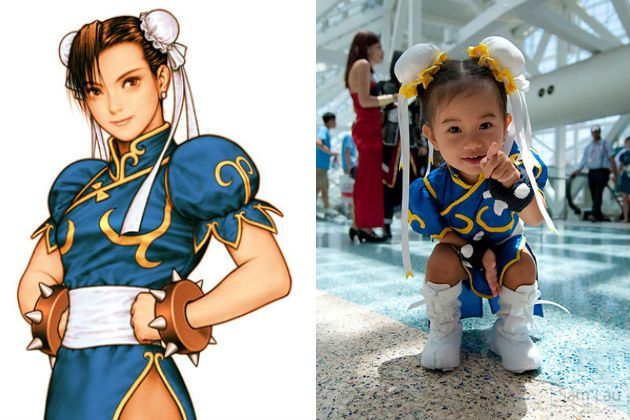 Baby Chun-Li - So cute!!