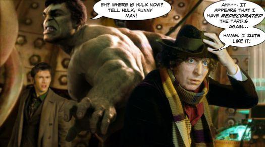 Hulk in a TARDIS... by Soulman-Inc.deviantart.com on @deviantART