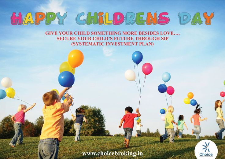 #ChoiceBroking wishes you all Happy Children's Day #ChildrensDay