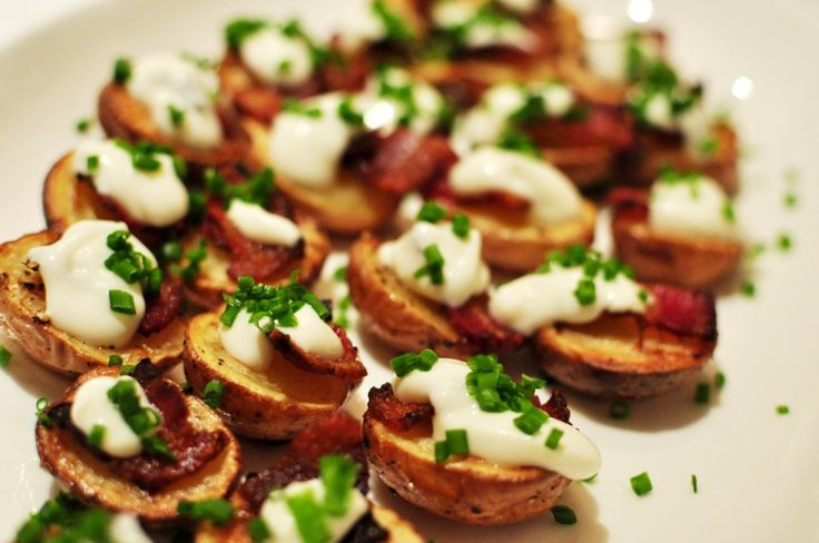 Creamer Potato Finger Party Food Amuse Bouche Little