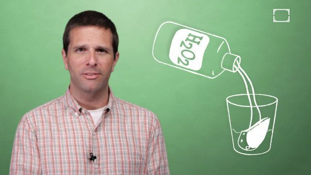 Why Does Hydrogen Peroxide Foam When Put on a Cut? [video]