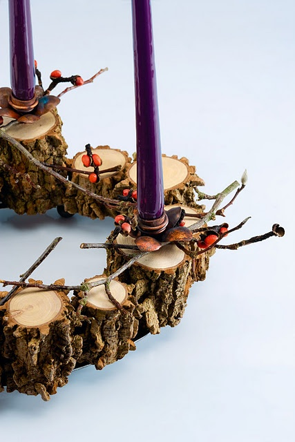 can i make this? saw, glue gun, twigs, metal candle holder?