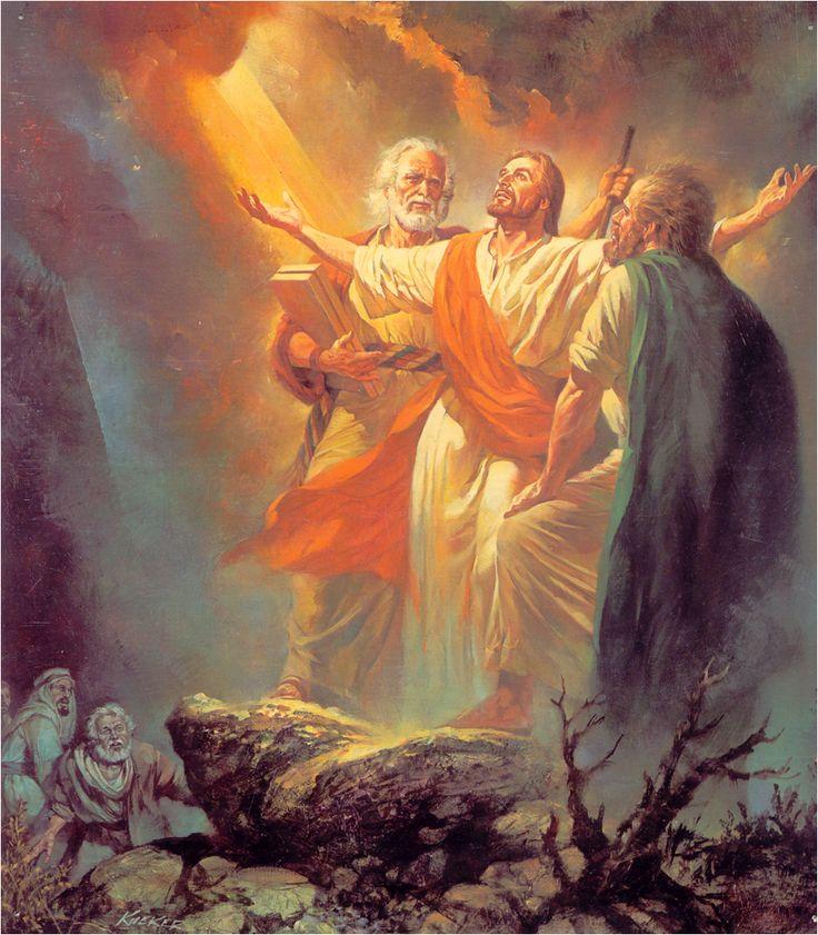"Transfigeration of Jesus: Matthew 17:1-7.....Jesus reveals his glory...""....http://www.gotquestions.org/transfiguration.html"