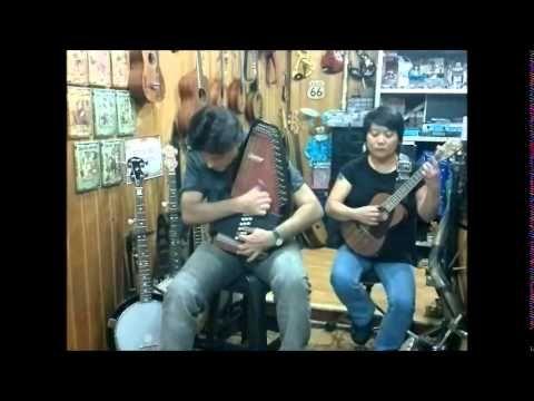 Autoharp - ukulele tenor - prefácio para meditar - JP e Soninha KOi - mu...
