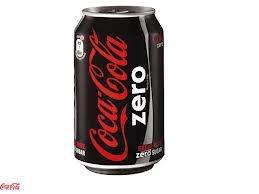 coca cola zero  lekker om te drinken