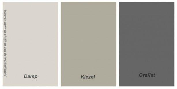 Keuken schilderen kleuren for Schilderen voor gang d