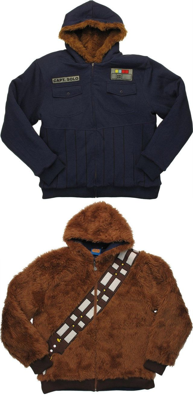 Double The Fun: Reversible Chewbacca/Han Solo Hoodie