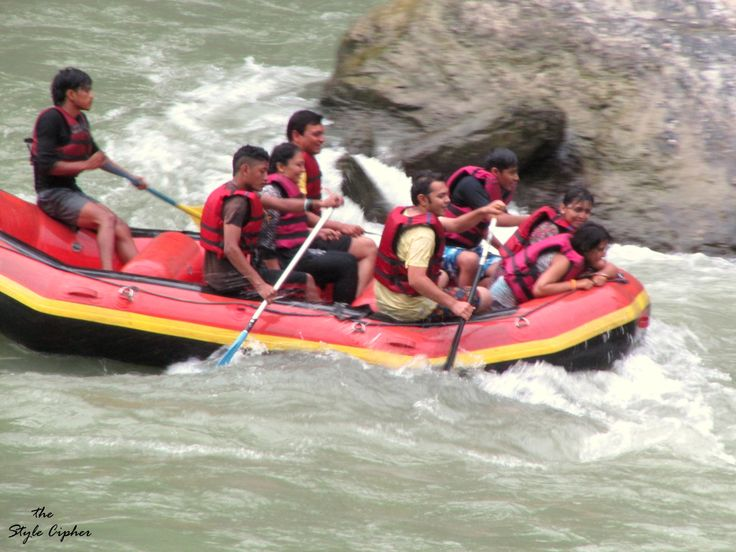 Insane Rafting!