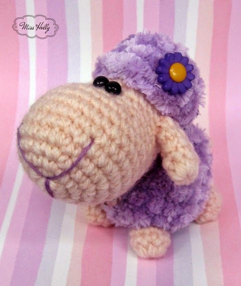 Amigurumi Sheep Keychain : 1000+ images about Sheep on Pinterest African flowers ...