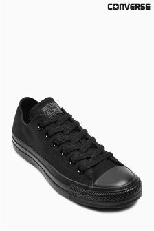 Black Converse Chuck Ox £46 http://www.uksportsoutdoors.com/product/new-look-womens-ivy-lace-side-sports-knickers-white-white-patterned-10/