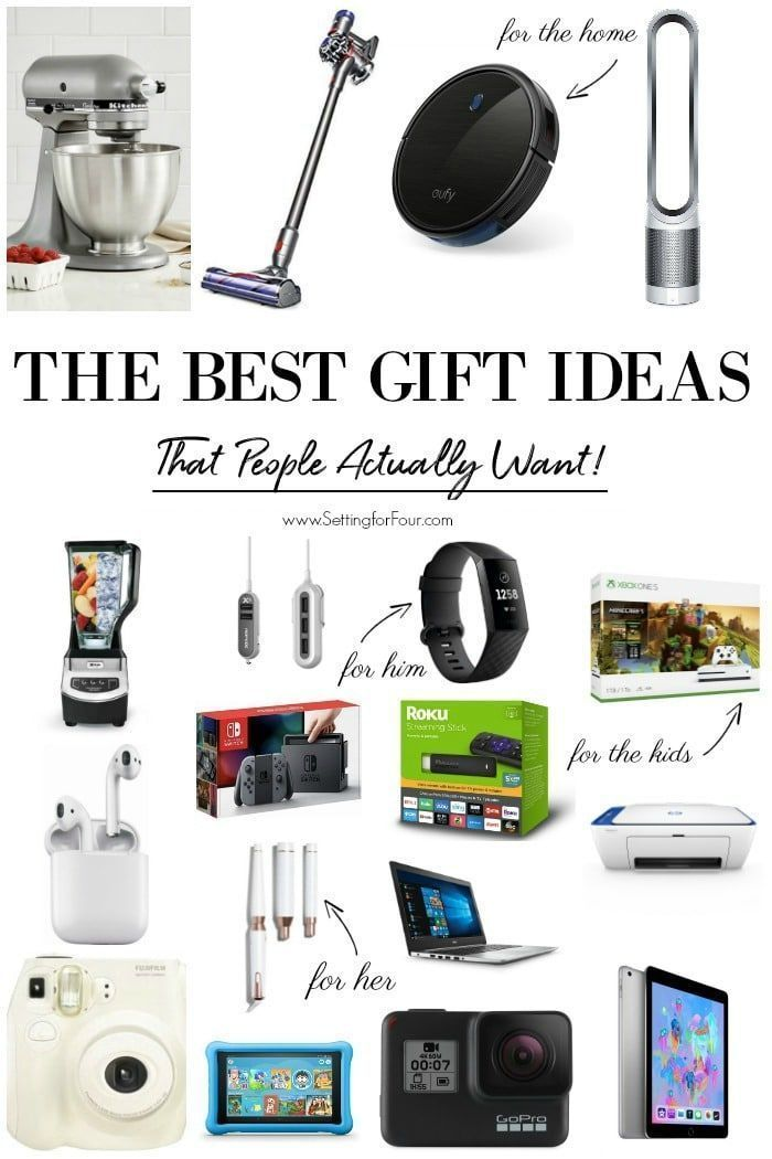 Gift Ideas That People Actually Want Electronic Gifts For Men Birthday Gifts For Teens Tech Gadgets Gifts