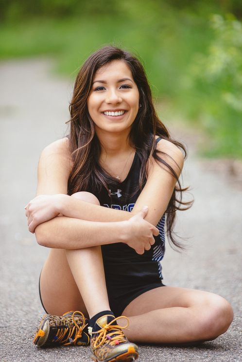 Senior Portrait / Photo / Picture Idea - Girls - Cross Country / Track