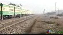 The Awesome World: Pakistan Railways Fastest Train With Furious Hensc...