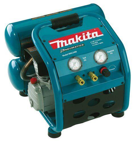 Makita MAC2400 Big Bore 2.5 HP Air Compressor Makita http://www.amazon.com/dp/B0001Q2VPK/ref=cm_sw_r_pi_dp_c0bqub1DJF9BJ