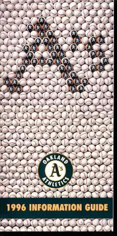 Oakland Athletics Media Guide