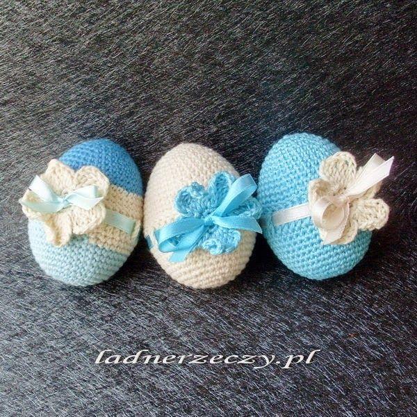 crocheted eggs / szydełkowe jaja