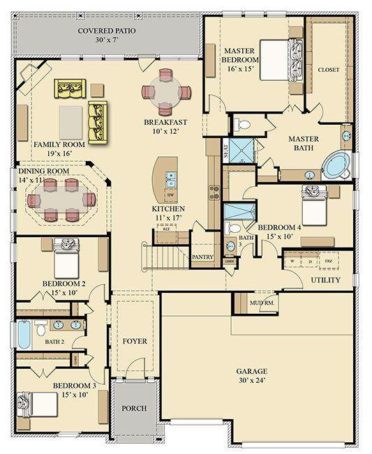 Award Winning Texas House Plans: 54 Best Floor Plans Images On Pinterest