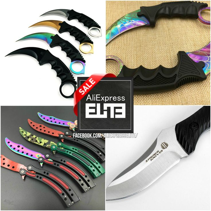 CS:GO Fan !?!?   Interested Collectionner !?!?   Or Just an Awesome Knife Lover !?!?   Check this Models out: http://bit.ly/2d1TQ28