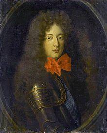 Philippe de Lorraine-Armagnac, dit le « Chevalier de Lorraine », (1643 -1702), fils cadet d'Henri de Lorraine, comte d'Harcourt et époux de Marguerite Philippe du Cambout, était le favori et mignon du duc d'Orléans, Monsieur, frère du roi Louis XIV.