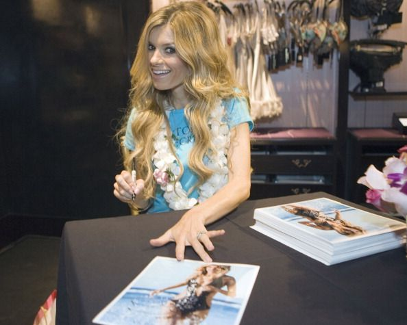 Marisa Miller at an autograph session during the grand opening of Hawaii's first ever Victoria's Secret store at Ala Moana Center on October 1 2009...