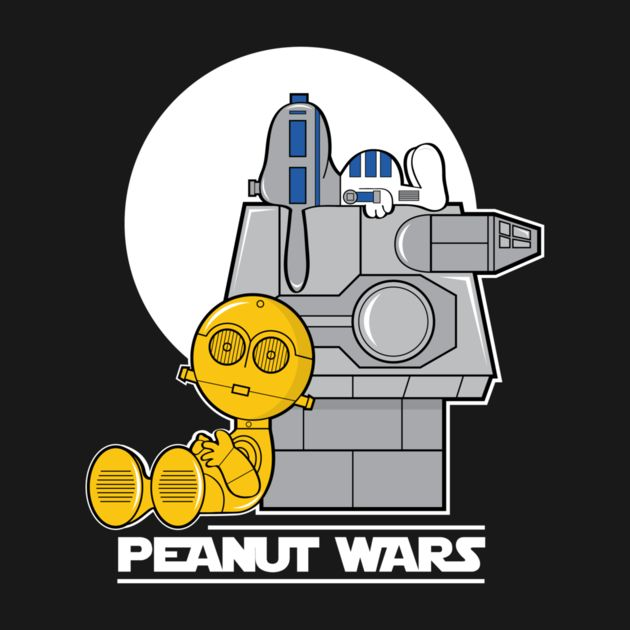 PEANUT WARS by jrberger A Mash-Up of Peanuts and Star Wars.