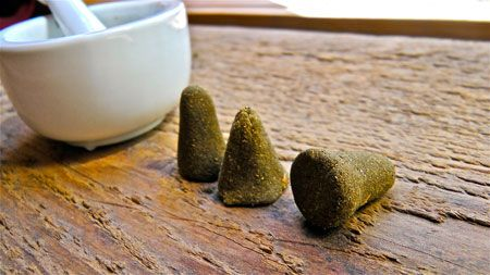 Make your own incense cones!