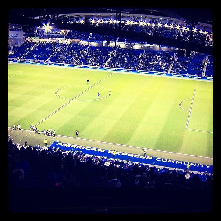 Amex (American Express Community) Stadium, Falmer, Brighton, East Sussex - home ground of Brighton & Hove Albion #bhafc