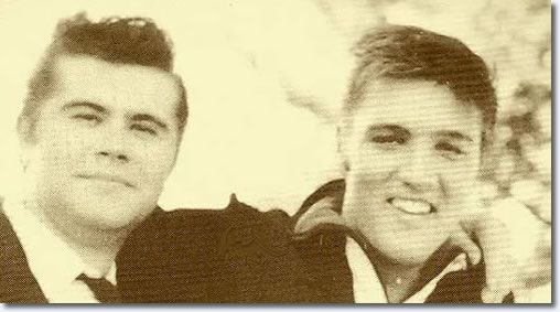 Warren Smith and Elvis - Memphis, Sunday, September 23, 1956  |  Warren Smith (February 7, 1932 – January 30, 1980) was an American rockabilly and country music singer and guitarist. - Warren Smith's contribution to rockabilly music has been recognized by the Rockabilly Hall of Fame. Smith's records include, 'Red Cadillac & A Black Moustache', 'Uranium Rock' and 'Ubangi Stomp'. - See more at: http://www.elvispresleymusic.com.au/pictures/1956_september_23.html#sthash.CRnDODXn.dpuf