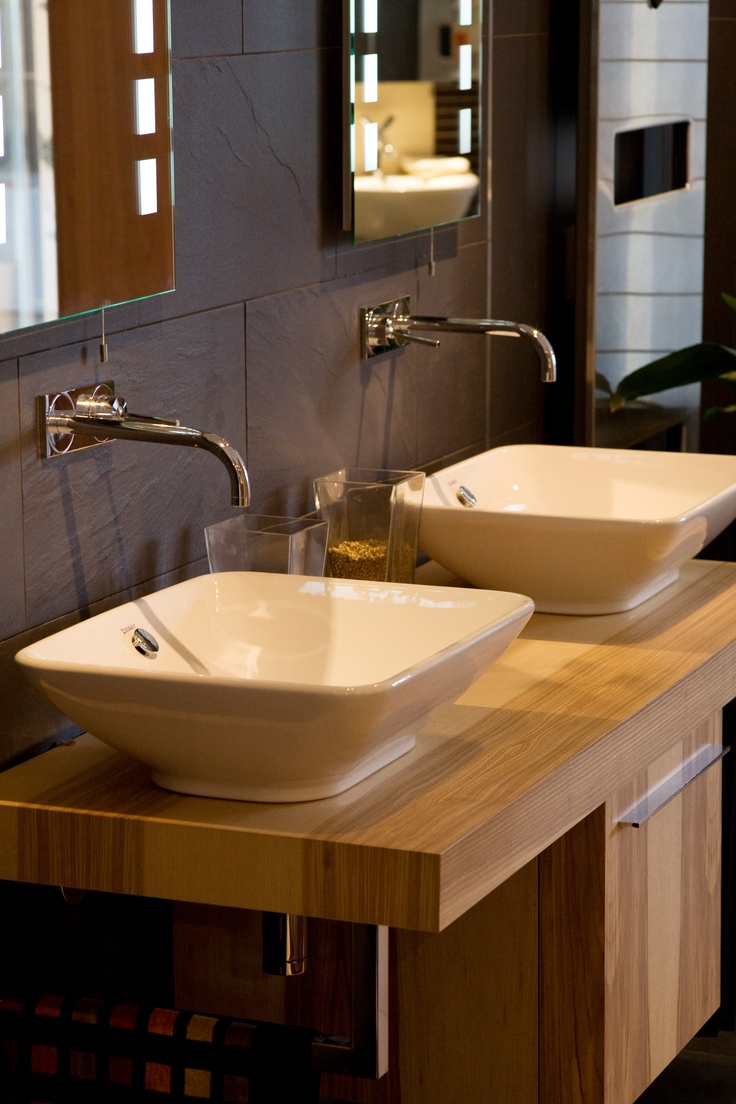 Duravit Fogo Ash Olive Bacino Basins Formerly On Display
