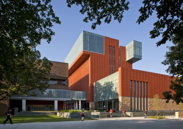 Ross school of business university of michigan kohn for Ross architecture