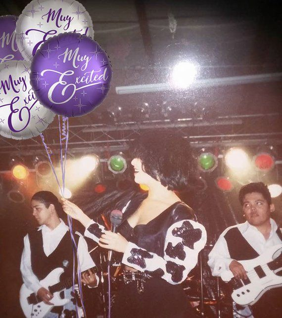 MUY EXCITED Balloons (3 BUNDLE), LatinX, Anything for Selenas