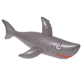 Our Inflatable Shark makes a great party favor and decoration at any under the sea or ocean themed event.