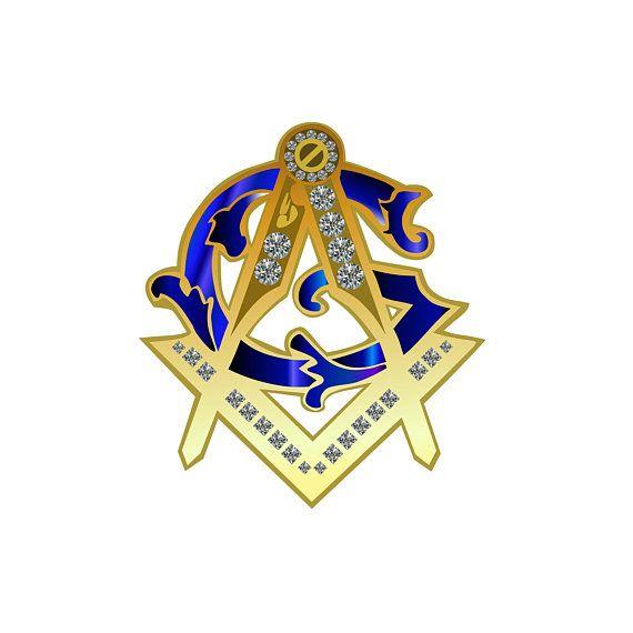 Masonic Bible Patch Square Compass Iron Sew Freemason Fraternity NEW!