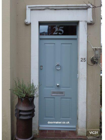 45 best victorian georgian edwardian front doors images on for Victorian front doors
