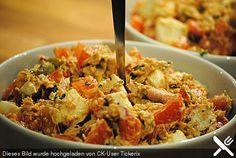 Thunfisch - Salat italienische Art (Rezept mit Bild) | Chefkoch.de (anstelle von Mozzarella auch Hüttenkäse, Creme Fraiche gegen saure Sahne tauschen)