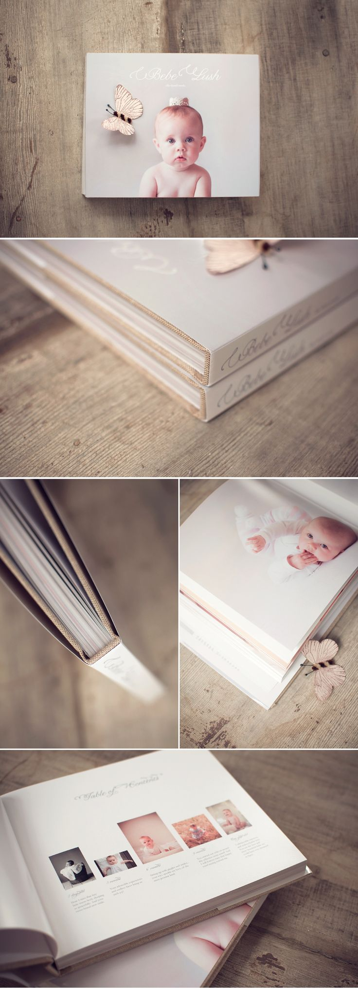 beautiful baby book: I so need to make these for the kids before I forget everything. They are growing so fast!