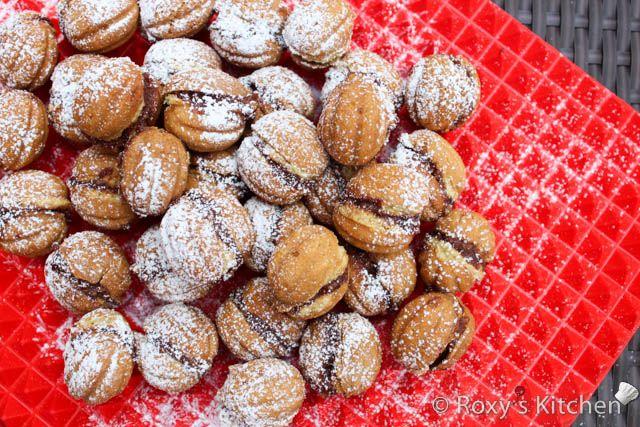 Filled Walnut Cookies / Nuci Umplute recipe