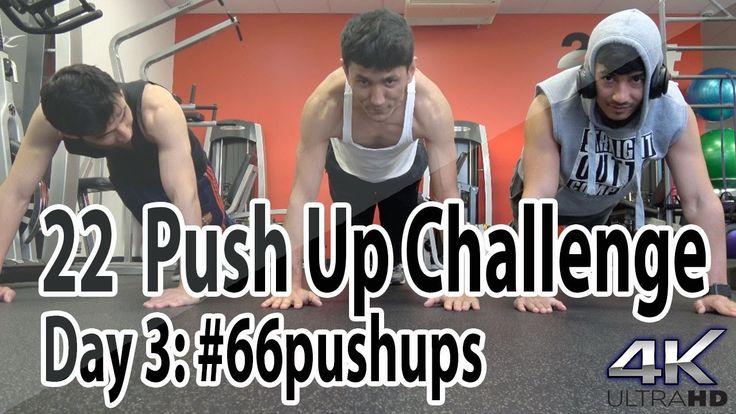 Day 3 | #66pushups for #22KILL | 22 days & 1, 111 Pushups for #22kill | ...