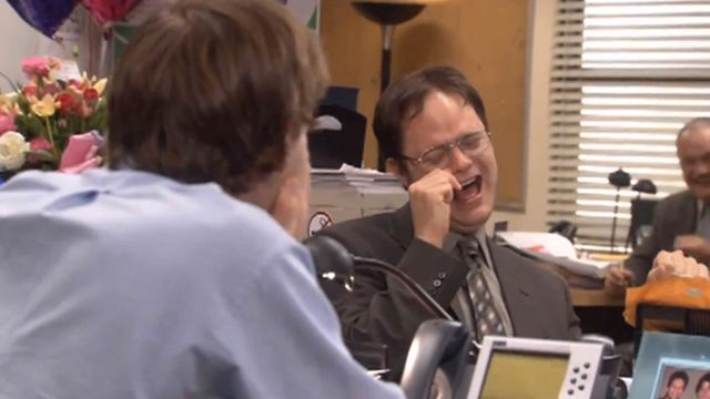 No joke, best 18 minutes I've spent in quite a while. Season 2-7 Bloopers From The Office - pin now, watch later