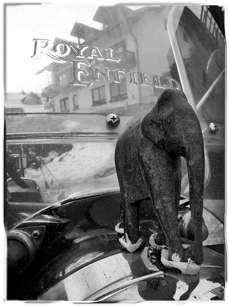 Royal Enfield & Elefantentreffen. Thurmansbang-Solla. Bayerisher waltz. by xavier bertral