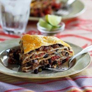 Receta-Enchiladas en La Olla de Coccion Lenta