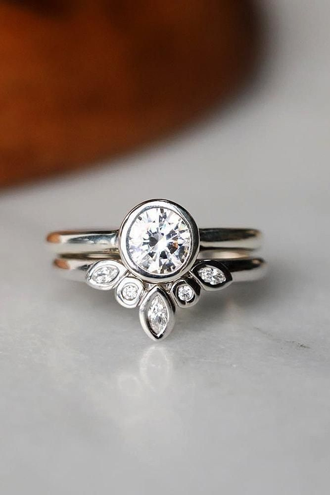 Uncommonly Beautiful Diamond Wedding Rings ★ #engagementring #proposal