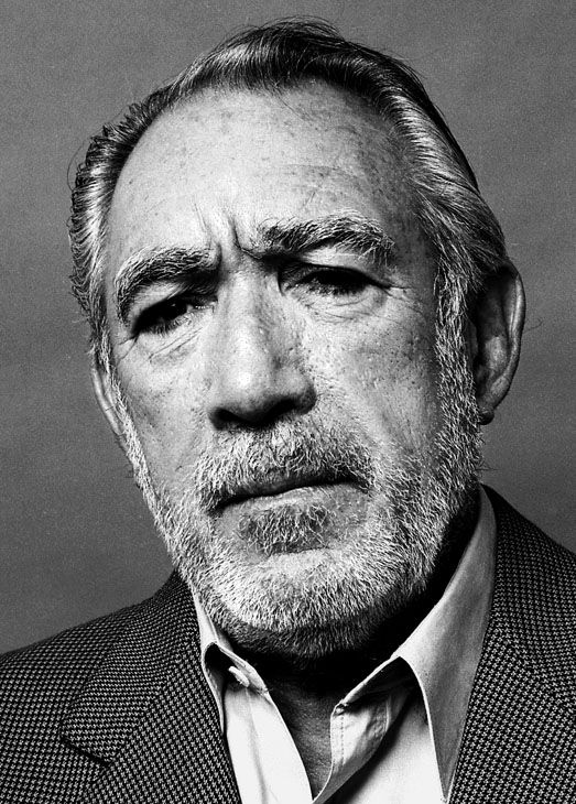 "Anthony Quinn - (aka Antonio Rodolfo Quinn Oaxaca) - (1915 - 2001) - Mexican-American Actor, Artist, Writer - Academy Award for Best Actor in a Supporting Role - ""Lust for Life"" 1957 and ""Viva Zapata 1953 and Nominated for Best Actor in ""Zorba the Greek"" 1964 and ""Wild is the Wind"" 1957 - Acted in many notable films including ""The Guns of Navarone"", ""Lion of the Desert"" and ""La Strada"" - Rest in Peace"
