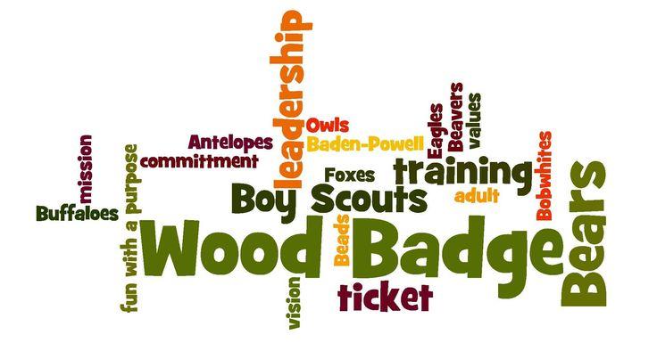 Wood Badge Scoutings Ultimate Leader Training – Wood Badge Ticket Worksheet