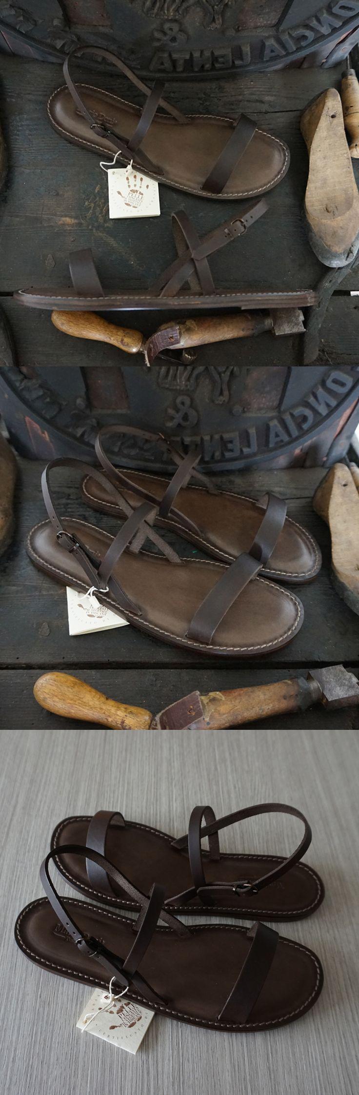 Handcrafted woman Sandals natural tanned leather Sandali Artigianali da Donna in Cuoio e Vera Pelle al Vegetale #sandalicuoio #mariodoni #artigianali #cacao #pellealvegetale