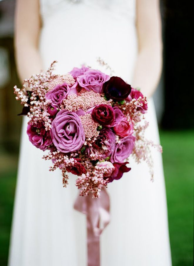 Fall Wedding Bouquet - Diana Marie Photography