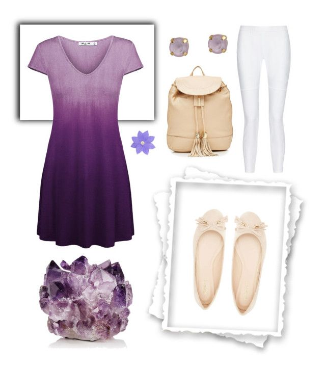 """""""Purple, for so many reasons"""" by wind-chasing ❤ liked on Polyvore featuring John & Pearl, Qupid, 10 Crosby Derek Lam, See by Chloé, LumaBase and McCoy Design"""